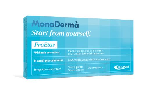 Proetas: l'integratore alimentare studiato per la tua pelle